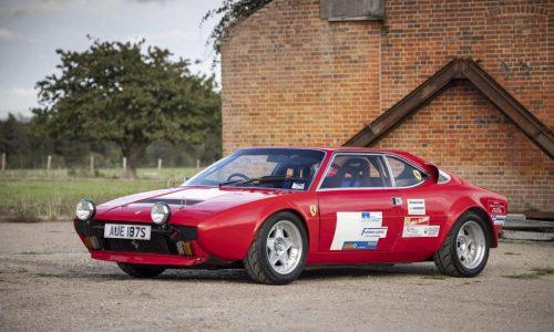 Ferrari Dino GT4, una speciale 'scalatrice' all'asta.