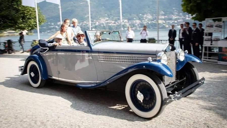 Concorso d'Eleganza Villa d'Este 2021, vince la Lancia Dilambda del 1930.